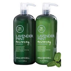 Paul Mitchell Lavender Mint Moisturizing Shampoo 33.8oz & Conditioner 33.8oz DUO