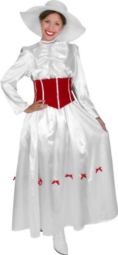 Women's Mary Poppins Halloween Costume (Small 6-8)