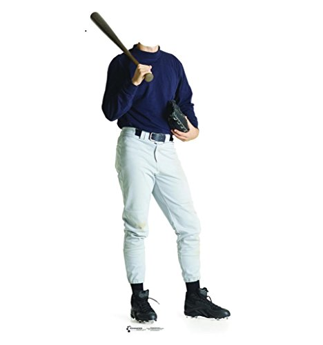 Baseball Player Stand-In - Advanced Graphics Life Size Cardboard Standup (Baseball Cutout)