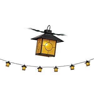Click to buy Mission Honey Glass Lantern String Party Lights from Amazon!