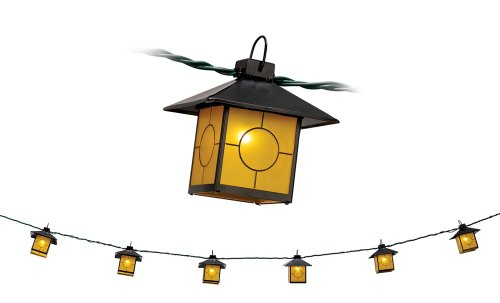 Mission Honey Glass Lantern String Party Lights