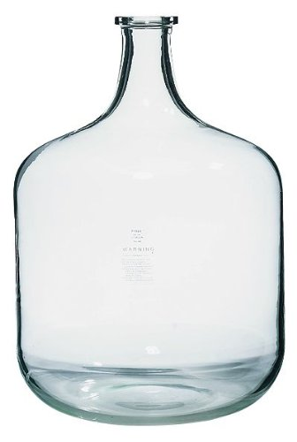 Pyrex Brand 1595 Solution Bottle; carboy shape, 19 L