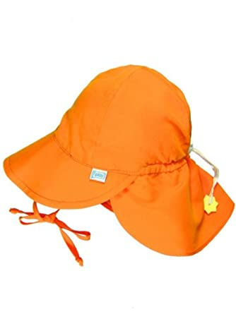 Iplay Baby Infant Toddler Unisex Solid Color Flap Sun Hat   Beach Hat by  Iplay 075b356618cc