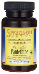 Swanson Pantesin Pantethine 300 mg 60 Sgels