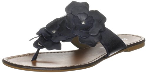 Jane Shilton Women's Highgate Navy Thong Sandals 65878 8 UK