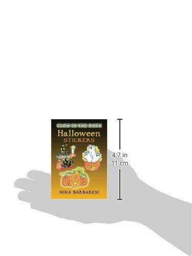 Glow-In-The-Dark Halloween Stickers (Dover Little Activity Books Stickers)
