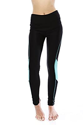 VIRGIN ONLY Women's High Waist Athletic Gym Workout Fitted Yoga Pants