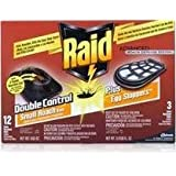 Raid Double Control Small Roach Baits + Egg Stoppers-15 ct.