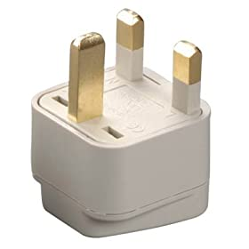Grounded Adapter - Europe to England UK Britain