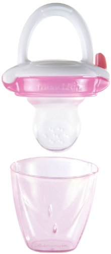 Munchkin Silicone Baby Food Feeder, Pink