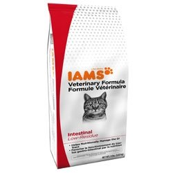 Detail image Iams Veterinary Foods Intestinal Low-Residue Dry Cat Food 14 lbs