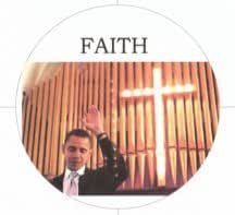 Barack Obama - FAITH Refrigerator Magnet