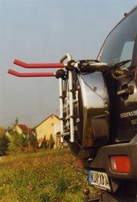 Fahrradheckträger ECKLA 77777 PORTY 4×4 für