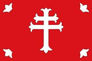 Amazon.com : magFlags Large Flag Nuévalos   Paño rojo de
