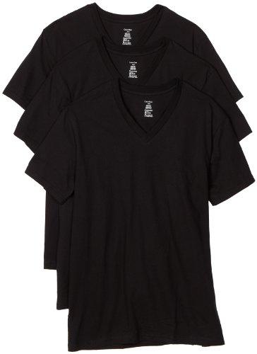Calvin Klein Men's Basic V-Neck T-Shirt, 3-Pack