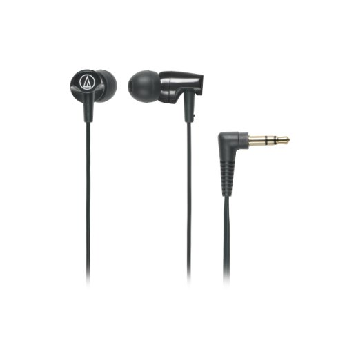 Audio Technica Athclr100Bk In-Ear Headphones, Black