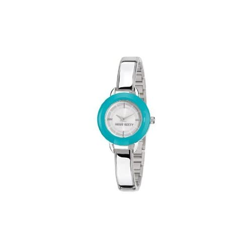 Miss Sixty ミスシックスティー Ladies Watch Sih004 In Collection Roundy, 2 H and S with Interchangeable Bezel レディス 女性用 腕時計[並行輸入品]