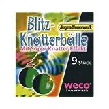 """Blitz Knatterb�lle 9 St�ck Kinder Feuerwerk Silvestervon """"Weco"""""""