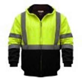 Utility ProWear High Visibility Hooded Soft Shell Class 3, B