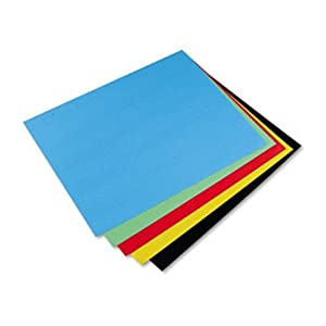 Amazon.com : Pacon 54871 - Colored Four-Ply Poster Board ...