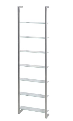 "Design DVD-Rack ""CUBIC"" in Nickel"