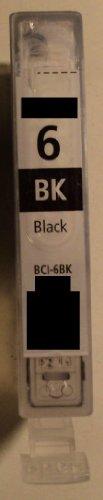 1x BCI 6bk photo black Refill für Canon Drucker BJC-3000 3010 6000 6100 6200 6200s 6500 BJ-F300 F600v MPC 400 600F 700 photo 730 photo Multipass F30 F50 F60 F80 C100 C755 S400 S450 S4500 S500 S520 S530 S530D S600 S630 S6300 S700 S750 S800 S820 S830D S900 S9000 T-Fax 7960 i550 i560 i6500 i850 i865 i900d i905 i9100 i950 i965 i990 i9950 iP 3000 4000 5000 6000D 8500 MP 700 730 750 760 780 BCI-5c BJC-8200