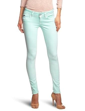 (1.8折)荷兰大牌G-Star Women's Lynn Skinny Jean美女紧身牛仔裤$29.28 蓝/黄