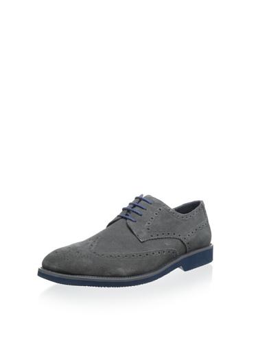 Joseph Abboud Robert Mens Oxford Dress Shoes ROBERT-GRYSU Grey 10 M US (Joseph Abboud Shoes compare prices)