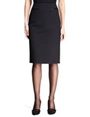 M&S Collection Knee Length Square Pencil Skirt