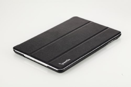 Poetic SLIMLINE Portfolio Case for Apple iPad Mini Tablet Black(Automatically Wakes and Puts the iPad Mini to Sleep)(3 Year Manufacturer Warranty From Poetic)