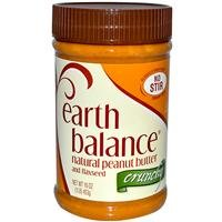 Earth Balance Pnut Btr, Crnch, 16-Ounce (Pack of 4) temptations creamy dairy flavor treats for cats 16 ounce