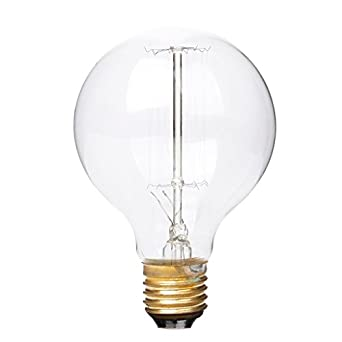 ampoule edison filament filament de tungst ne lampe incandescence classique vintage. Black Bedroom Furniture Sets. Home Design Ideas