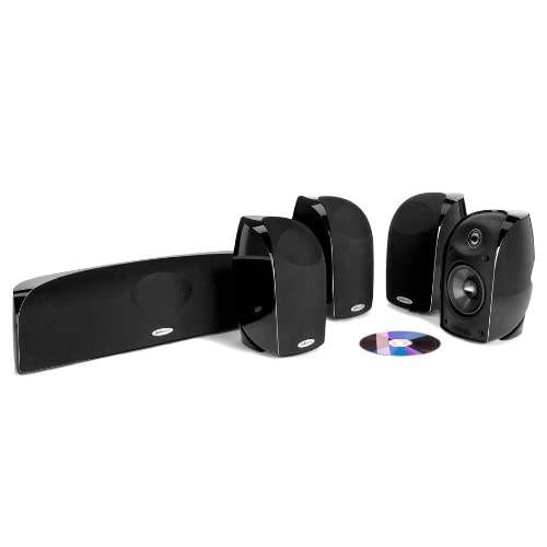 Polk Audio TL350 Black 5-Channel Home Theater System