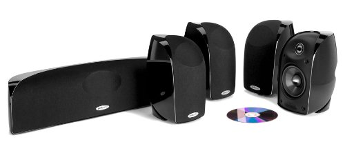 Polk Audio Blackstone Tl350 5-Piece Satellite Speaker System - Black