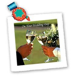 On Your Wedding Day - 10x10 Inch Quilt Square
