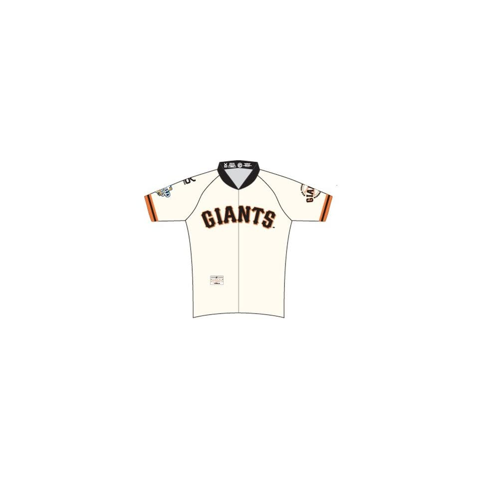 VOmax San Francisco Giants_WJER MLB San Francisco Giants (World Series) Mens Cycling Jersey Size X Small