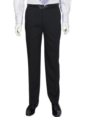 Austin Reed Regular Fit Navy Travel Trousers REGULAR MENS 30