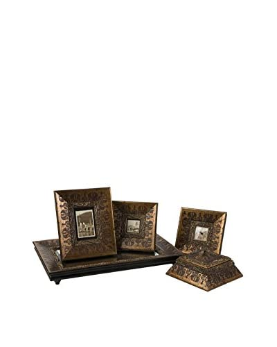 Set of 5 Baroque-Inspired Framed Collection