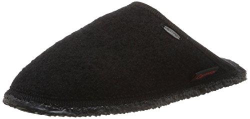 Giesswein - Tino, Pantofole unisex, Nero (022 / schwarz), 39