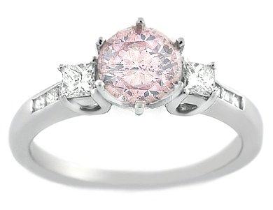 1.65 Pink Diamond Engagement Ring