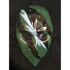 Camouflage face Airsoft Hockey mask,Heat mask,Goalie mask,Goalie masks,Goaltender... by WorldProfessional