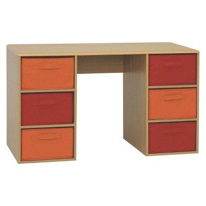 4D Concepts Crawford Kids Desk - Beech - Rugged Desks- Desk With Drawers - Kids'Furniture - Desk For Bedroom - Desks That Provides Comfort And Style. front-333750