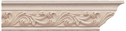 Brown Wood Inc. 01490122CH1 Acanthus Carving Insert Molding, Cherry