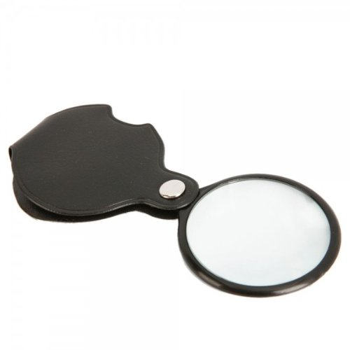 Fast Shipping + Free Tracking Number, Loupe 8X Mini Pocket Folding Magnifing Glass Magnifier