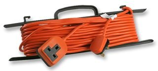Sivitec 15 Metre 13 Amp Orange Outdoor Extension Cable on 'H' Frame