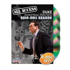 Buy Championship Productions Mike Krzyzewski: All Access Duke Basketball Practice (2010-11) DVD by Championship Productions
