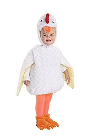 Underwraps Baby's Chicken Belly-Babies, White, Large