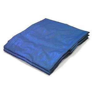 15′ x 20′ Premium Blue Multi-Purpose 6-mil Waterproof Poly Tarp Cover 12×16 Tent Shelter Camping Car Truck Rv Boat Tarpaulin Rip-Smart by Unique Imports