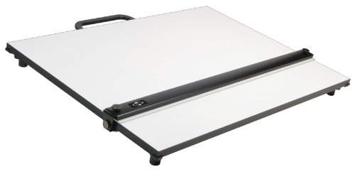 Alvin PXB Laminated Parallel Straightedge & White Drawing Board 16 in. x 21 in.