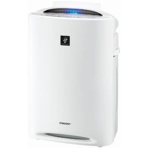 【PM2.5対応】SHARP プラズマクラスター搭載 加湿空気清浄機 ホワイト系 KC-B40-W